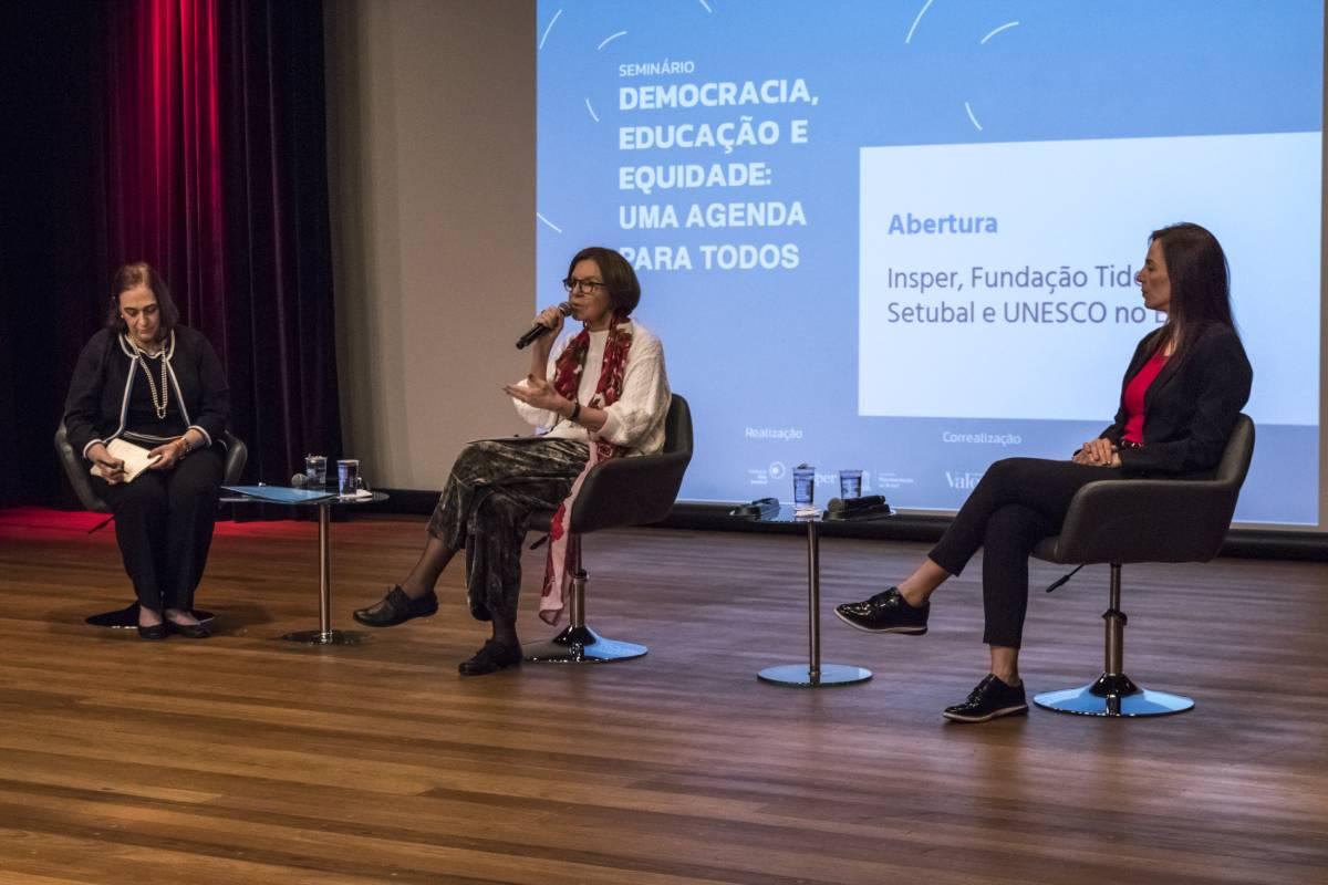 Democracia, educação e equidade no centro do debate